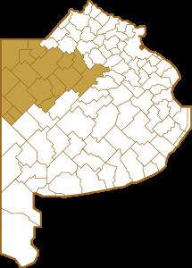 Mapa BA partidos [DIOCESIS]