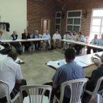 Encuentro de presbiterio en Nueve de Julio