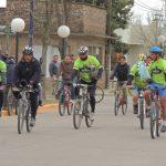 Ciclistas peregrinaron a Villa Cura Brochero