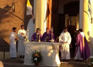 Padre José Luis Rossi asumió en Roberts