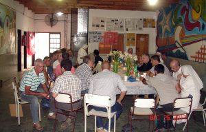 Visita del obispo ATM al penal de Las Tunas
