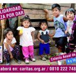 Afiche de Colecta de Caritas 2018