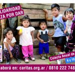 Afiche Colecta anual de Caritas 2018
