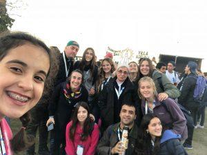 Jovenes en el II Encuentro Nacional de la Juventud en Rosario