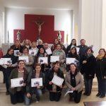 Catequistas que realizaron la diplomatura en Catequesis del Buen Pastor