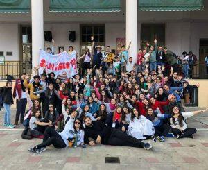 Jovenes de nuestra diocesis en el II Encuentro Nacional de Jóvenes en Rosario 2018