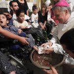 Monseñor Ariel Torrado Mosconi - Lavado de pies 2018