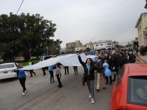 Marcha Toda Vida Vale en el Día de San Cayetano