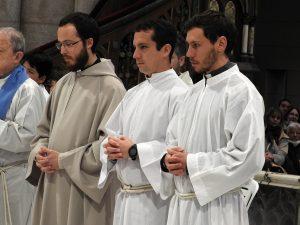 Seminaristas en Luján