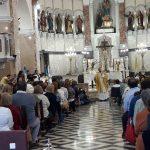 Interior parroquia Nuestra Señora del Rosario de 25 de mayo