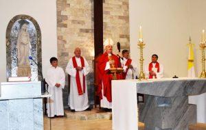 Monseñor Torrado Mosconi en Emilio Bunge