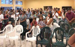 Visita pastoral de Mons. Torrado Mosconi a General Pinto