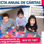 "Colecta anual de Cáritas 2019: ""Compartir transforma vidas"""