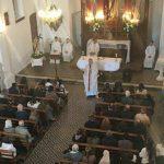 Fiesta de San Bernardo: Se reabrió el templo de Guanaco