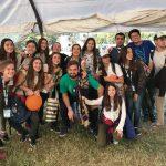 Jovenes de Trenque Lauquen en el II Encuentro Nacional de la Juventud en Rosario