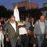 Primer aniversario del santuario de Fátima