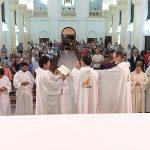Los seminaristas de la diócesis  misionaron en Trenque Lauquen