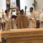 El Obispo instituyó como nuevo acólito al seminarista Rodrigo Alvarez