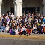Gran cantidad de jóvenes dieron  testimonio de su fe en General Pinto