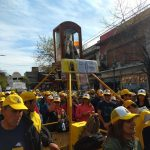 Jóvenes de la diócesis se sumaron  al pedido de unidad del pueblo argentino