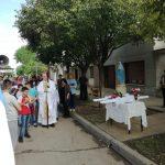 Los Toldos:  visita pastoral y fiestas patronales