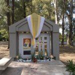 Se inauguró la ermita  de la Virgen de Schoenstatt en Nueve de Julio
