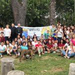 El obispo acompañó a los jóvenes misioneros en Los Toldos, 25 de Mayo y Junín