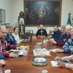 Mons. Ariel Torrado Mosconi recibió al equipo diocesano de Cáritas